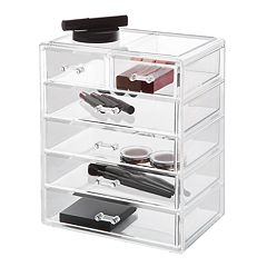 Richards Clearly Chic 6-Drawer Deluxe Organizer