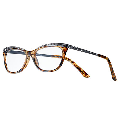 Women's Modera by Foster Grant Arista Crystal Accent Cat-Eye Reading Glasses