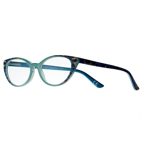 72bec2b5af Women s Modera by Foster Grant Diane Leopard Cat-Eye Reading Glasses