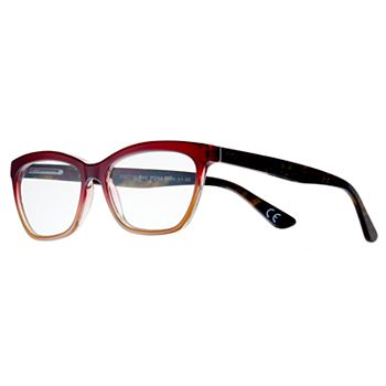 Women's Modera by Foster Grant Kara Ombre Wayfarer Reading Glasses