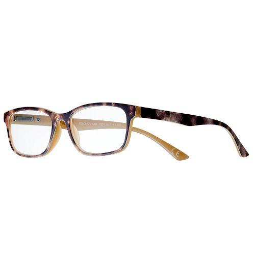 Women's Modera by Foster Grant Larsa Tortoise Rectangle Reading Glasses