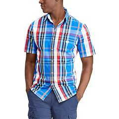 Men's Chaps Classic-Fit Easy-Care Woven Button-Down Shirt