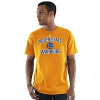 Men's Majestic Golden State Warriors Heart & Soul Tee
