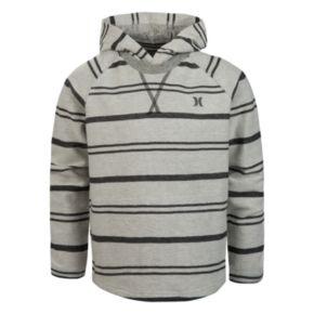 Boys 4-7 Hurley Striped Hooded Tee
