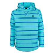 Boys 4-7 Hurley Striped Hooded Tee