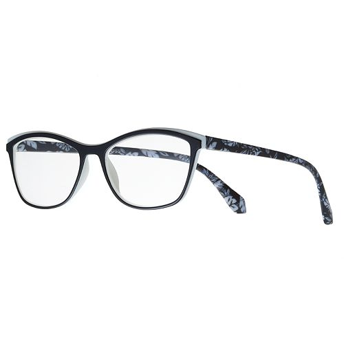 60cd07f5ad4 Women's Modera by Foster Grant Meryl Floral Cat-Eye Reading Glasses