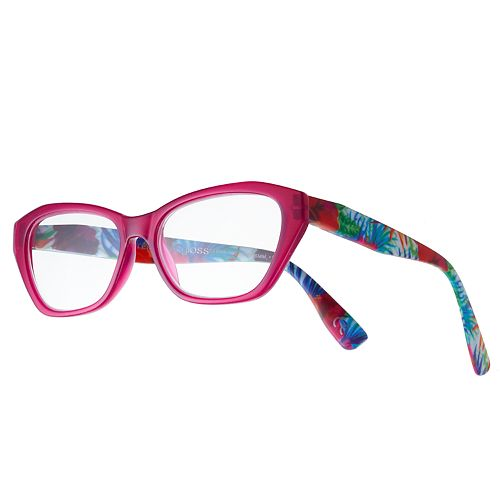 8273e5f9275 Women's Modera by Foster Grant Kensie Floral Cat-Eye Reading Glasses