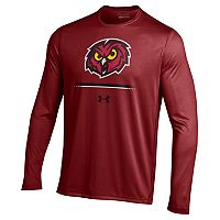 Men's Under Armour Temple Owls Tech Long-Sleeve Tee