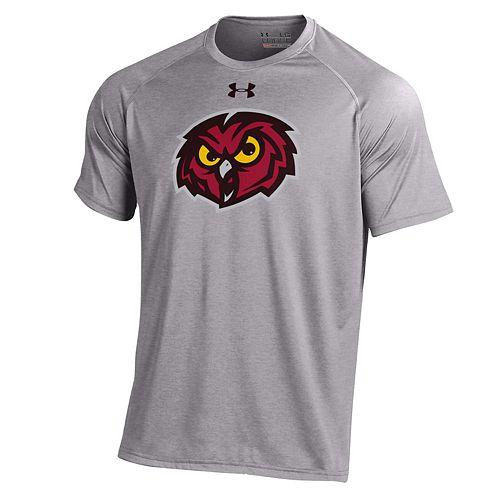 Men's Under Armour Temple Owls Tech Tee
