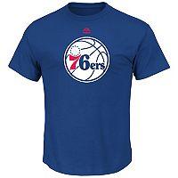 Men's Majestic Philadelphia 76ers Logo Tee