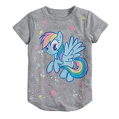Girls 4-10 Jumping Beans® My Little Pony Rainbow Bright Graphic Tee