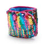 Girls 4-16 Elli by Capelli Reversible Flip Sequin Slap Bracelet