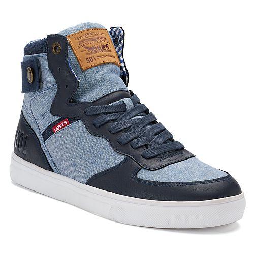 36ef23b9 Levi's® Jeffrey Hi 501 SB Men's High-Top Sneakers
