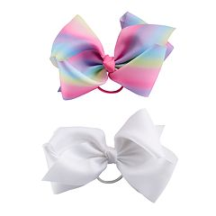 Girls 4-16 Elli by Capelli 2-pack Jumbo Ponytail Bows