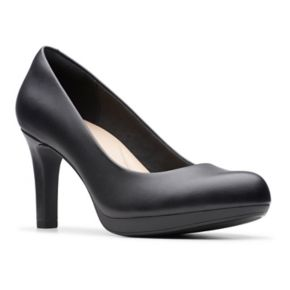 Clarks Adriel Viola Women's Ortholite High Heel Platform Pumps
