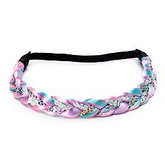 Girls 4-16 Elli by Capelli Braided Sequin Headband