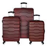 Elite Luggage Omni 3-Piece Hardside Spinner Luggage Set