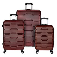 Elite Luggage Omni 3-Piece Hardside Spinner Luggage Set