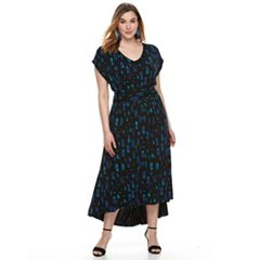 Plus Size Apt. 9® High-Low Maxi Dress