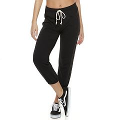 Juniors' SO® Cropped Jogger Sweatpants