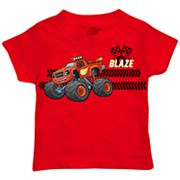 Toddler Boy Blaze & The Monster Machines Tread Marks Graphic Tee