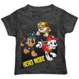 "Toddler Boy Paw Patrol Chase, Marshall & Rubble ""Hero Mode"" Graphic Tee"