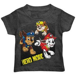 """Toddler Boy Paw Patrol Chase, Marshall & Rubble """"Hero Mode"""" Graphic Tee"""
