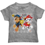 Toddler Boy Paw Patrol Chase & Marshall Icon Graphic Tee