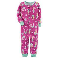 Baby Girl Carter's Printed One-Piece Pajamas