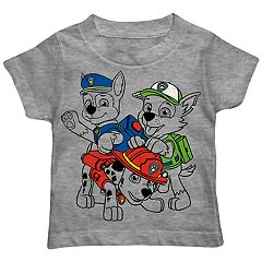 Toddler Boy Paw Patrol Chase, Rocky & Marshall Sketch Pad Graphic Tee