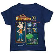 Toddler Boy Rusty Rivets Team Tech Graphic Tee