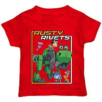 Toddler Boy Rusty Rivets Retro Frame Graphic Tee