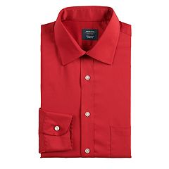 Men's Arrow Regular-Fit Stretch Spread-Collar Dress Shirt