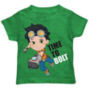 "Toddler Boy Rusty Rivets ""Time To Bolt"" Graphic Tee"