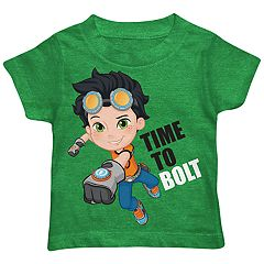 Toddler Boy Rusty Rivets 'Time To Bolt' Graphic Tee