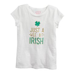 Girls 4-10 Jumping Beans® St. Patrick's Day Graphic Tee