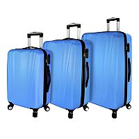Elite Luggage Tara Hardside 3-Piece Spinner Luggage Set