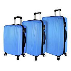 Elite Luggage Tara Hardside 3-Piece Spinner Luggage Set