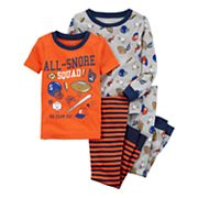 Toddler Boy Carter's 4 pc Pajamas Set