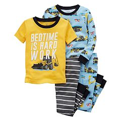 Toddler Boy Carter's 4 pc Pajamas Set