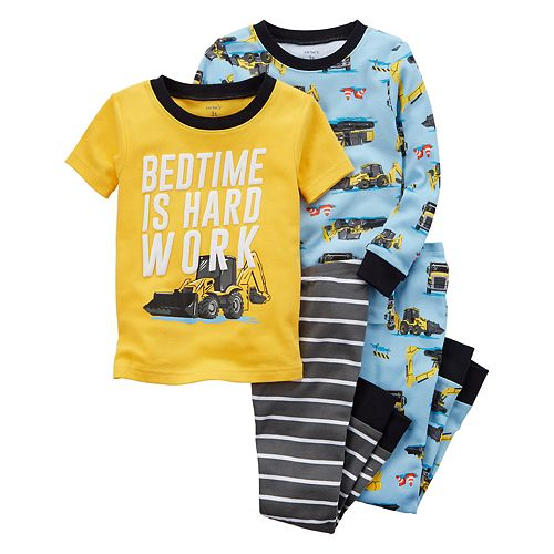 Toddler Boy Carter's 4-pc. Pajamas Set