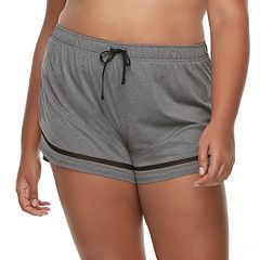 Juniors' Plus Size SO® Mesh Running Shorts