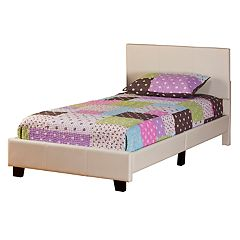 Hillsdale Furniture Springfield Faux-Leather Twin Bed