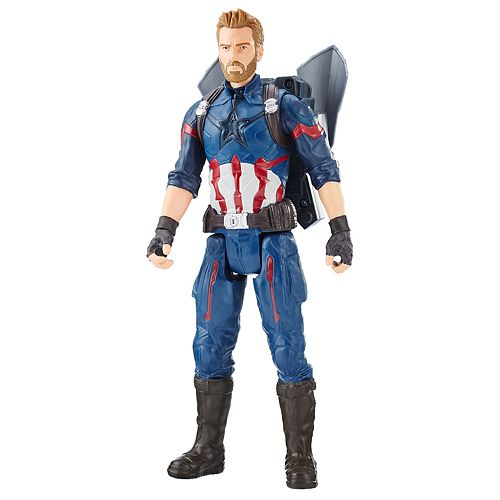Marvel Avengers: Infinity War Titan Hero Power FX Captain America by Hasbro