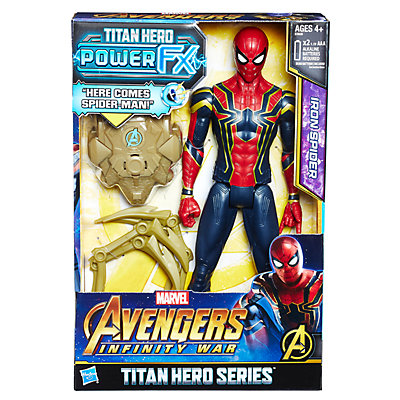 Marvel Avengers: Infinity War Titan Hero Power FX Iron Spider by Hasbro