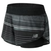 "Women's New Balance Impact Printed 4"" Running Shorts"