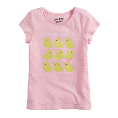 Girls 4-10 Jumping Beans® Easter Themed Slubbed Graphic Tee