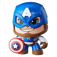 Marvel Avengers Mighty Muggs Captain America Figure by Hasbro