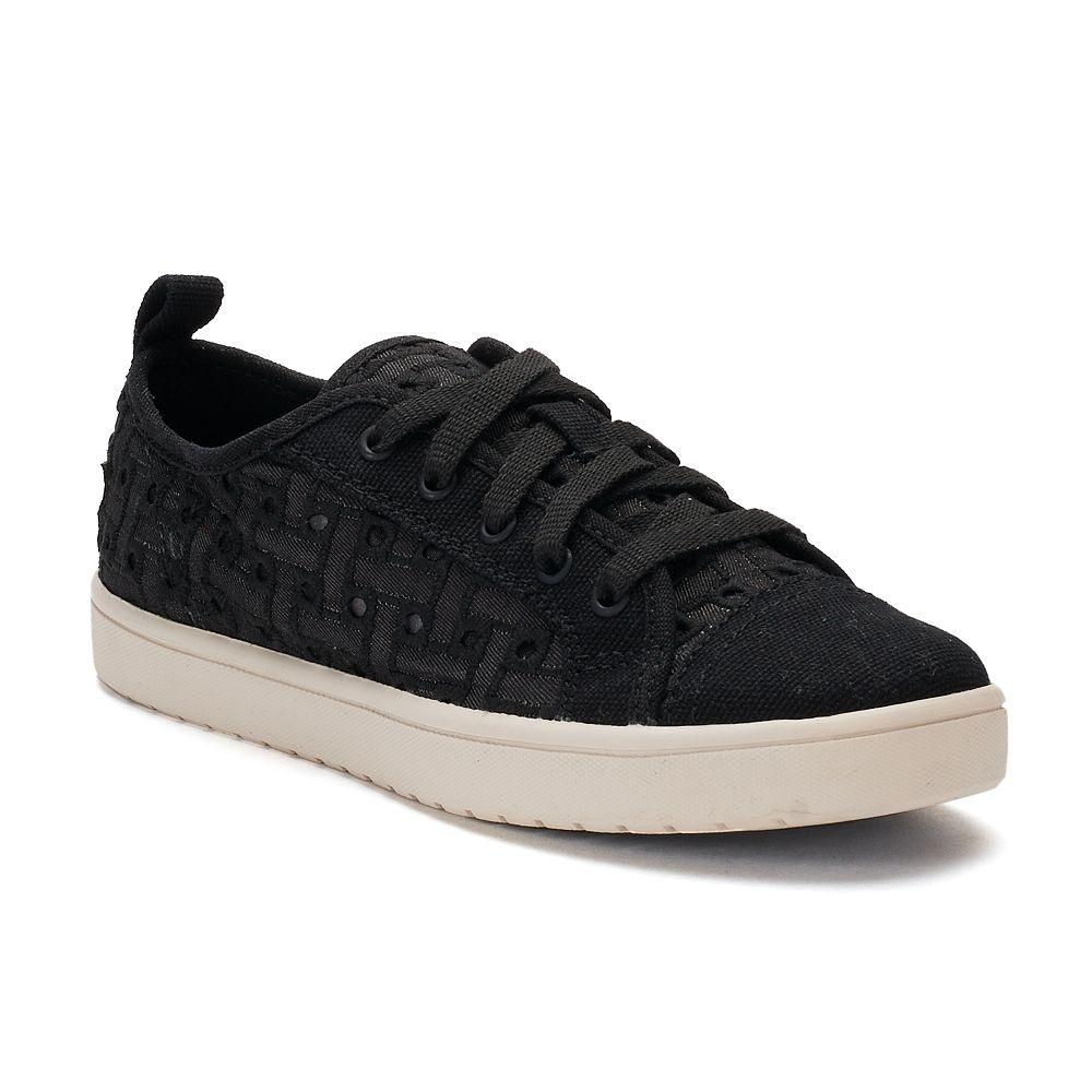 Koolaburra by UGG Kellen Low Lace Denim Girls' Sneakers