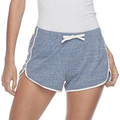 Juniors' SO® Slubbed Dolphin-Hem Shorts